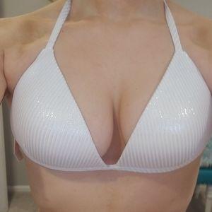 VICTORIA`S SECRET Triangle Swim Top Bikini Large